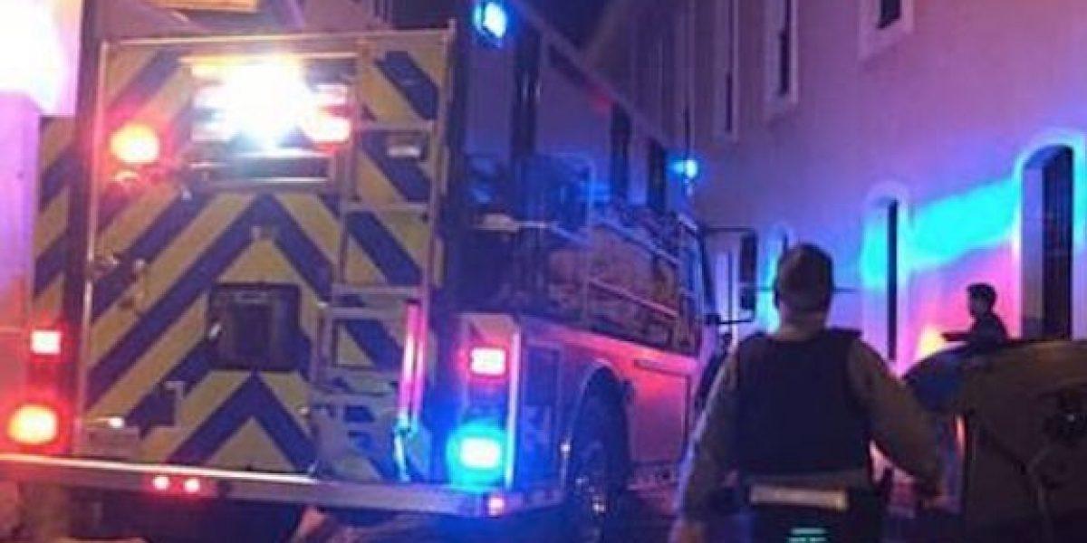Reportan incendio de autos en Viejo San Juan
