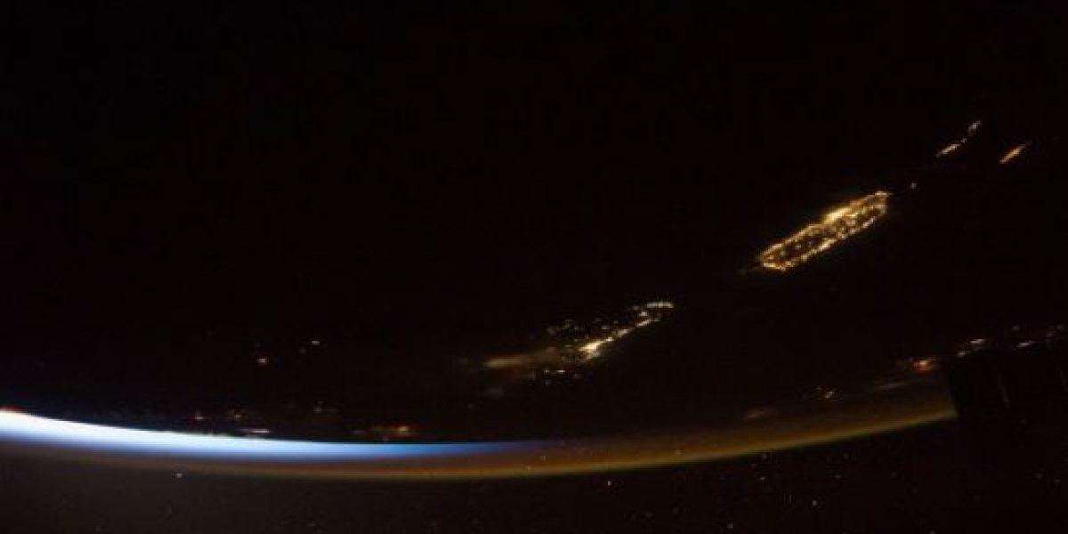 Magistral imagen de P.R. desde el espacio