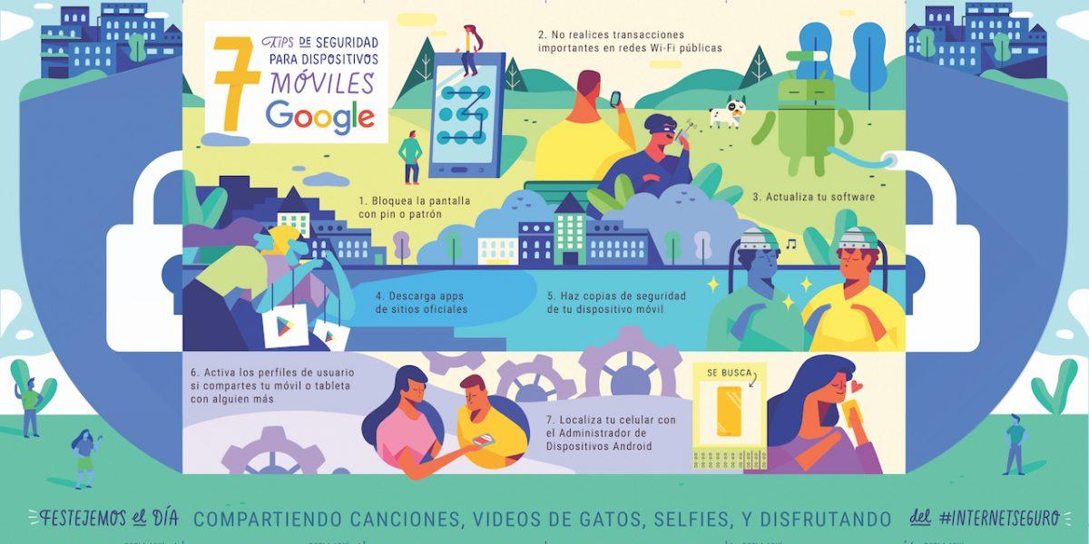 7 consejos de Google para navegar seguro en su celular