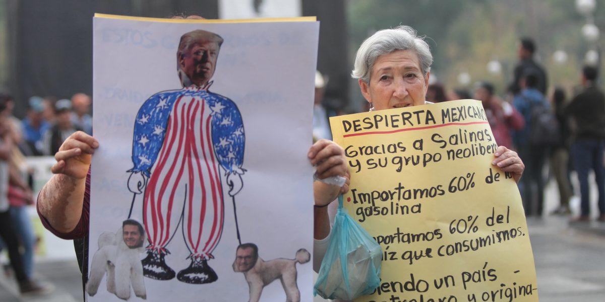 Convocan marchas en México para el domingo por unidad nacional y contra Trump