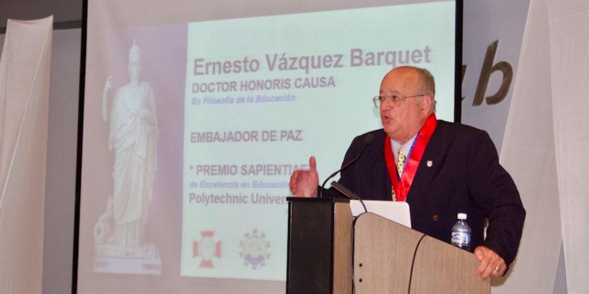 Politécnica recibe reconocimiento internacional por su labor educativa