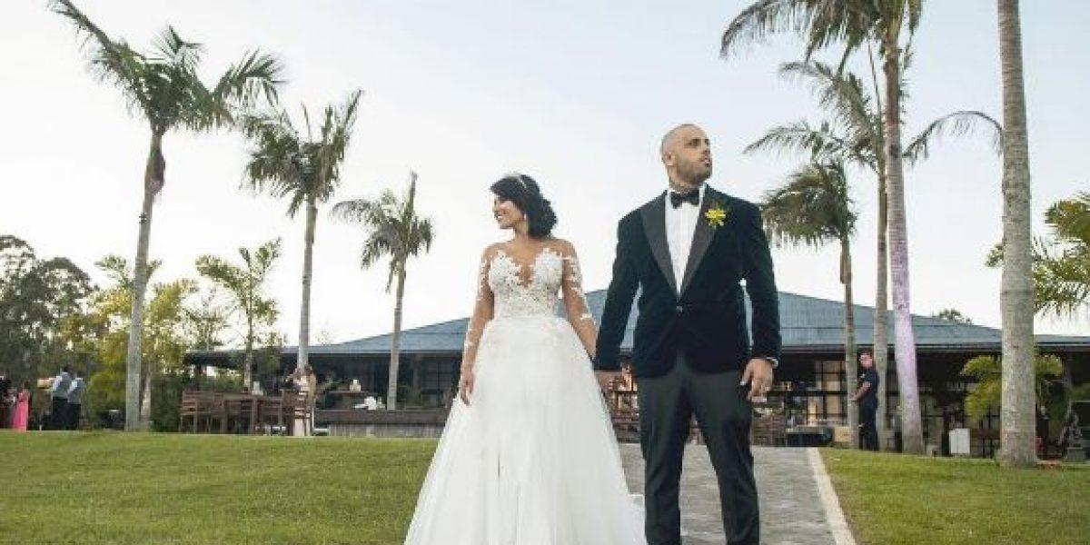 Nicky Jam publica fotos de su boda