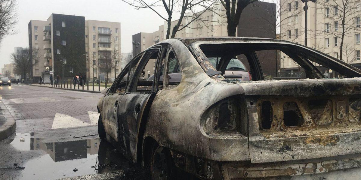 Varios detenidos por violencia y disturbios en París