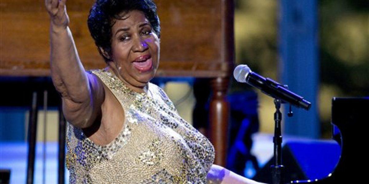 Se retira Aretha Franklin