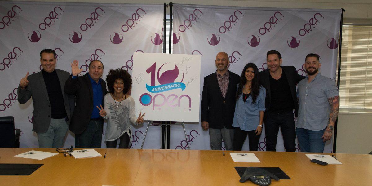 Open Mobile comienza celebraciones por su décimo aniversario