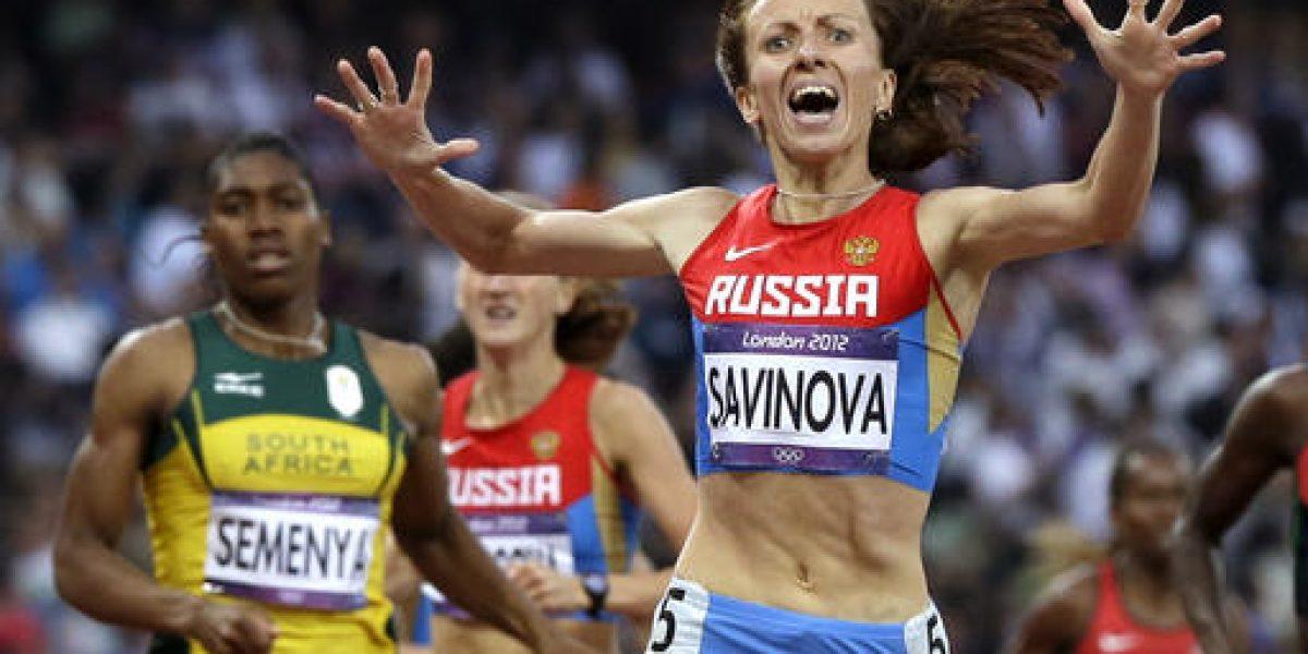 Corredora rusa pierde su oro olímpico por dopaje