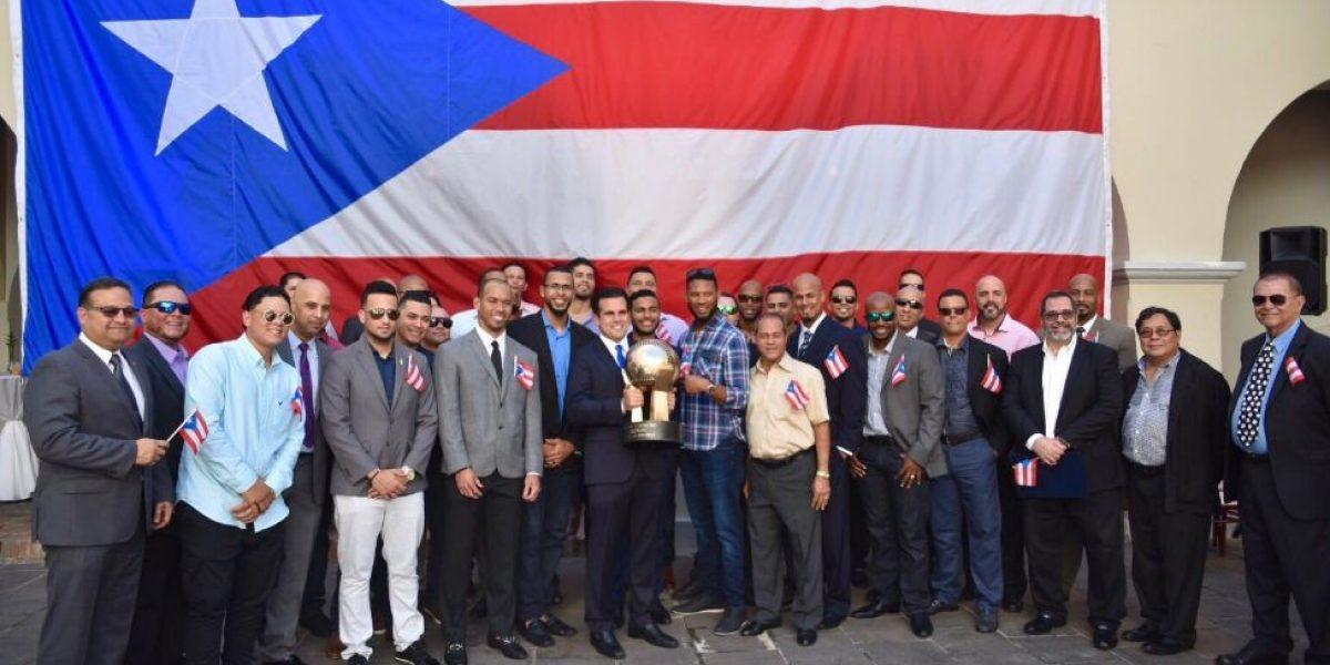 Los Criollos de Caguas llegan a La Fortaleza