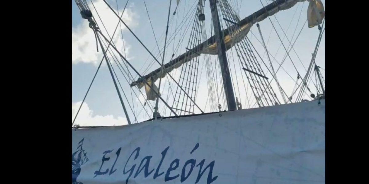 Regresa el Galeón Andalucía a la isla