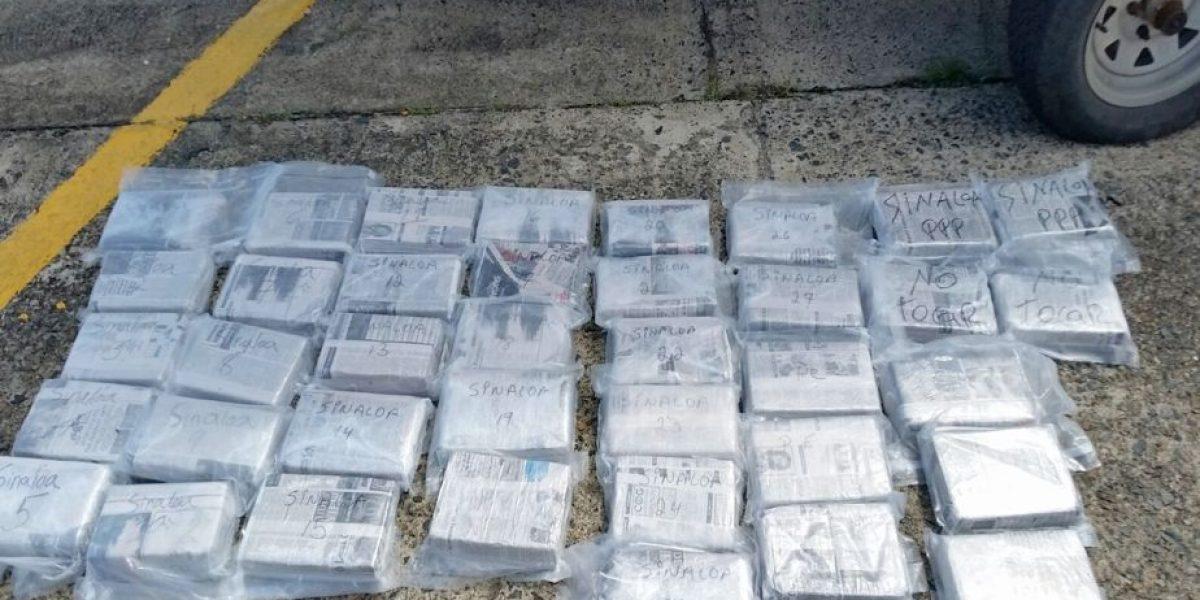 Ocupan gran cargamento de cocaína en el Luquillo