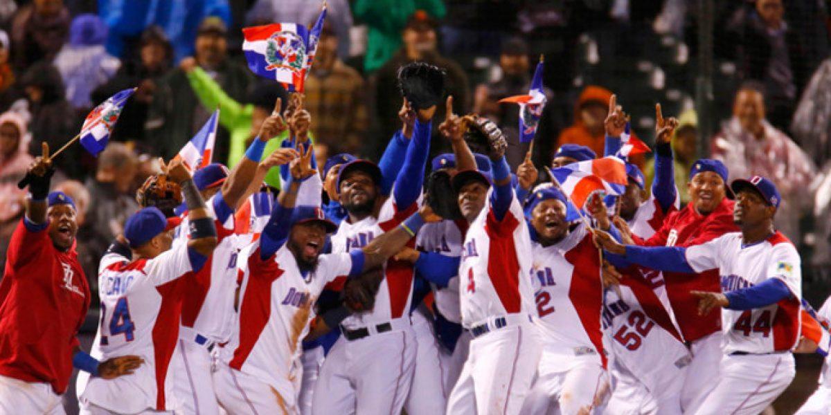 Casas de apuestas apuestan por República Dominicana para ganar Clásico Mundial de Béisbol
