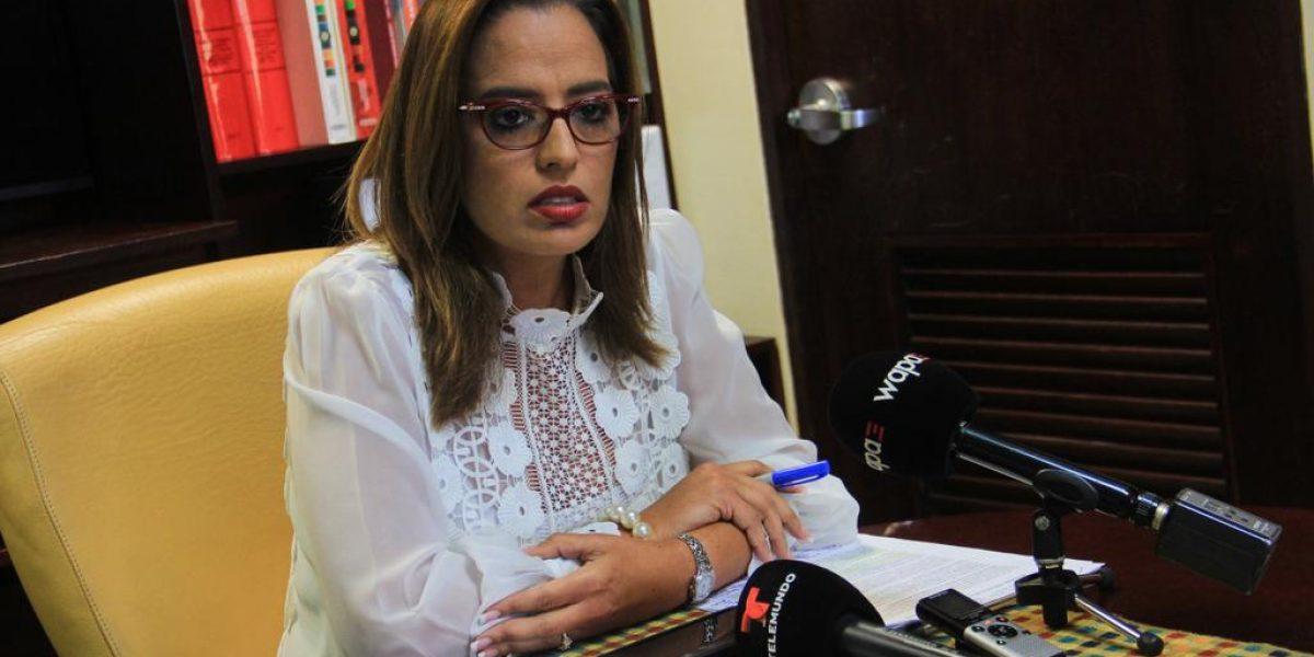 Indignada Rossana López con recortes a estudiantes y salud