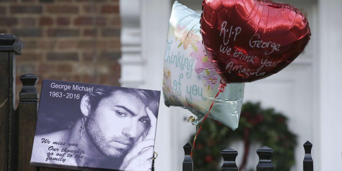 Filtran llamada de auxilio por muerte de George Michael