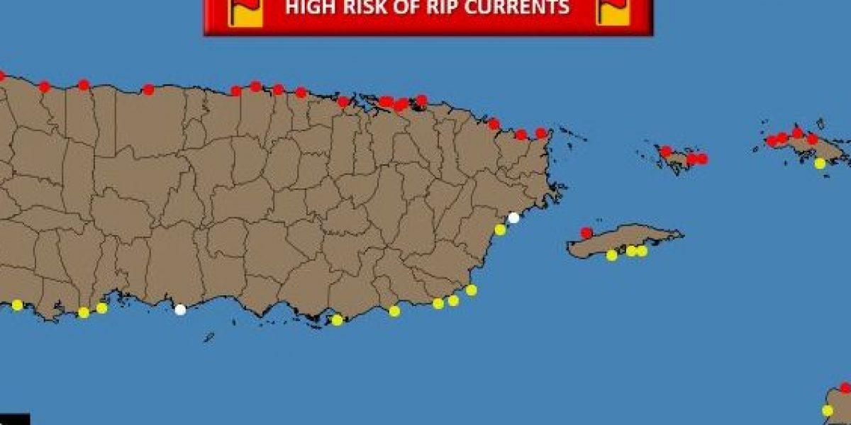 Fuerte oleaje en toda la costa norte y Culebra