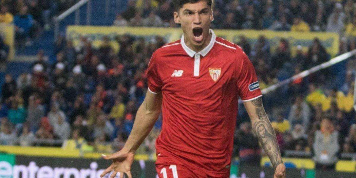 Sevilla vence a Las Palmas y se mantiene at ritmo del líder