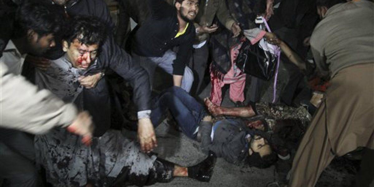 Bomba deja al menos 11 muertos en Pakistán