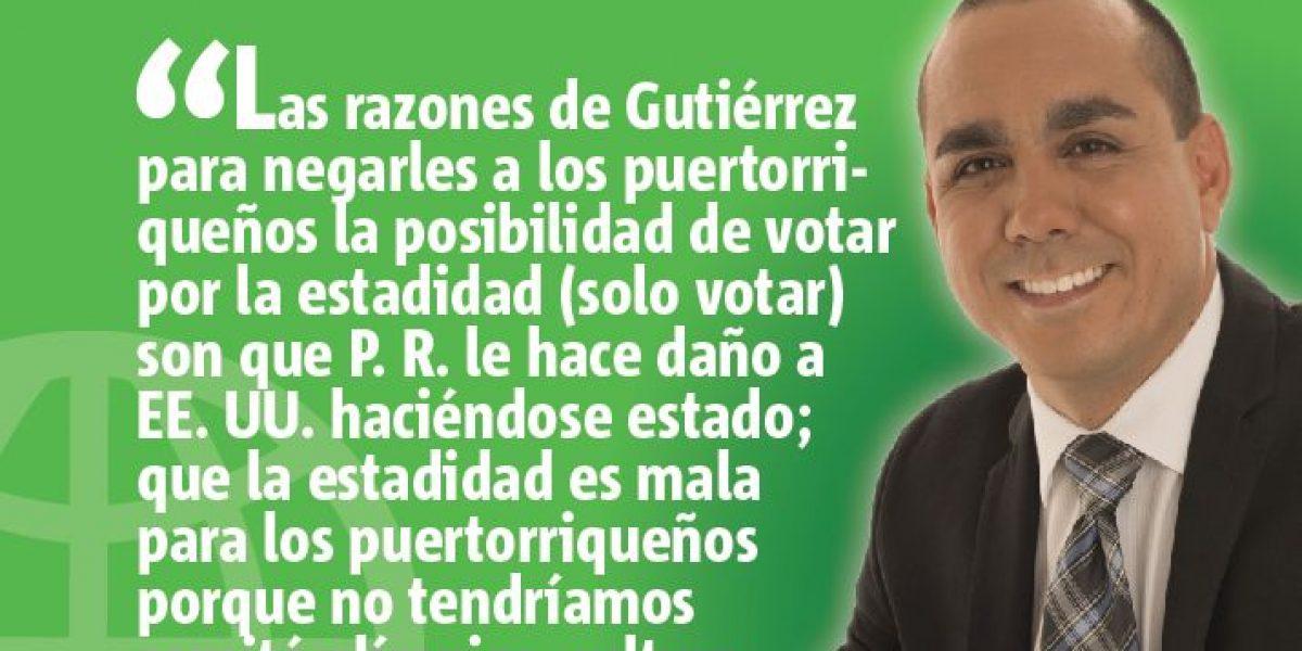 Luis Gutiérrez: Independentista de aire acondicionado