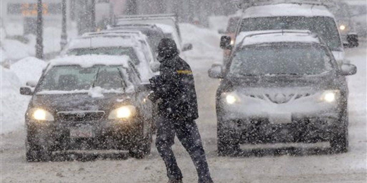 Noreste de EE.UU. se vuelve a cubrir de nieve