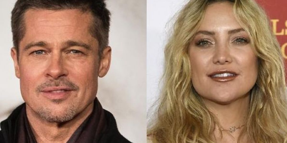 Confirman romance entre Brad Pitt y Kate Hudson