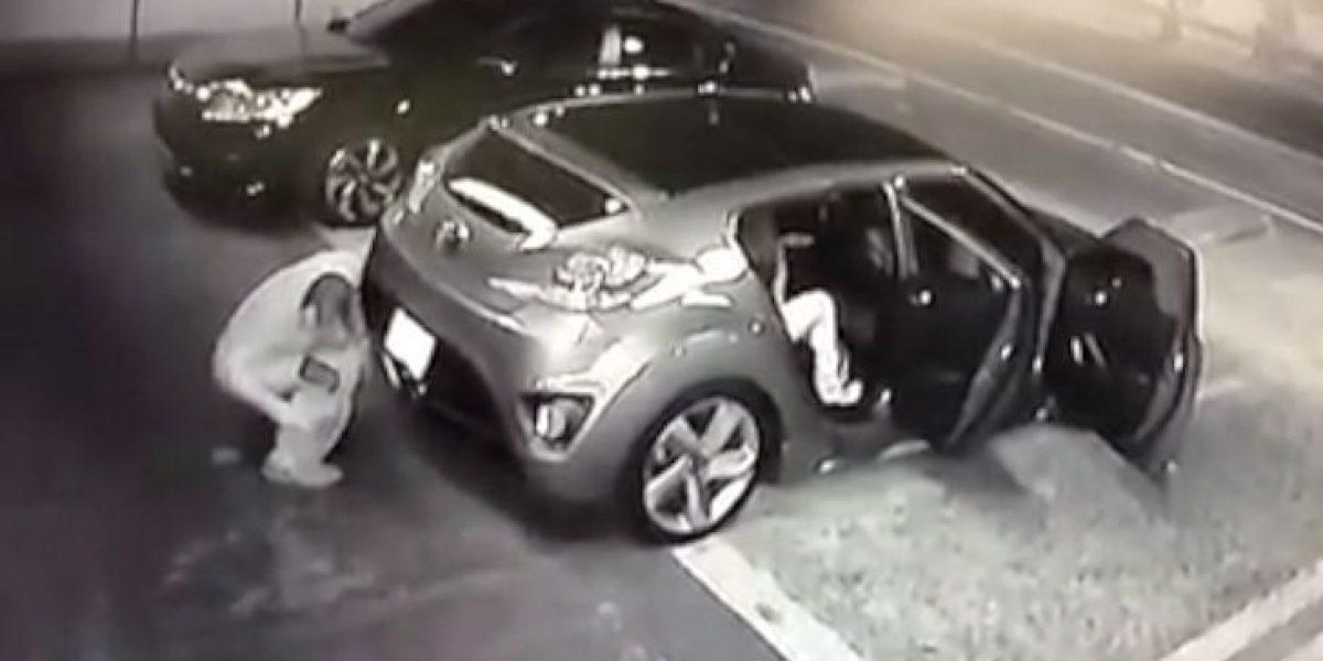 Hombre queda grabado cuando defecó en la vía pública
