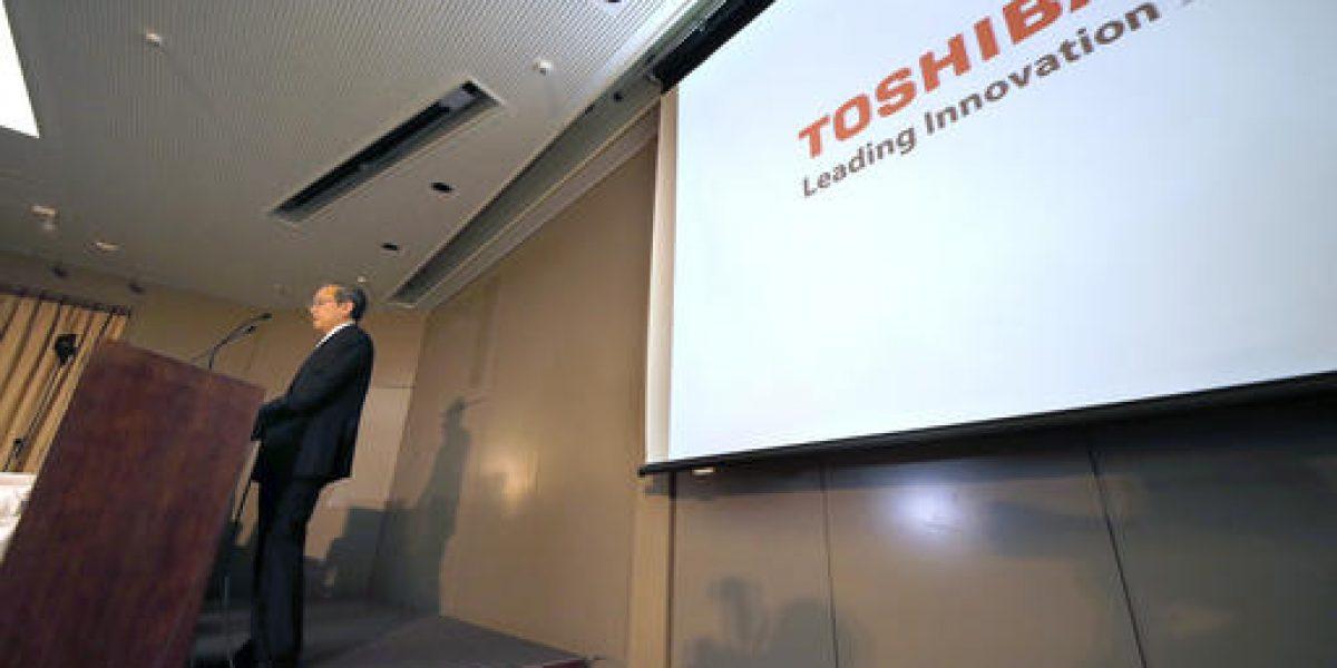 Presidente Toshiba dimite tras pérdidas por compra nuclear