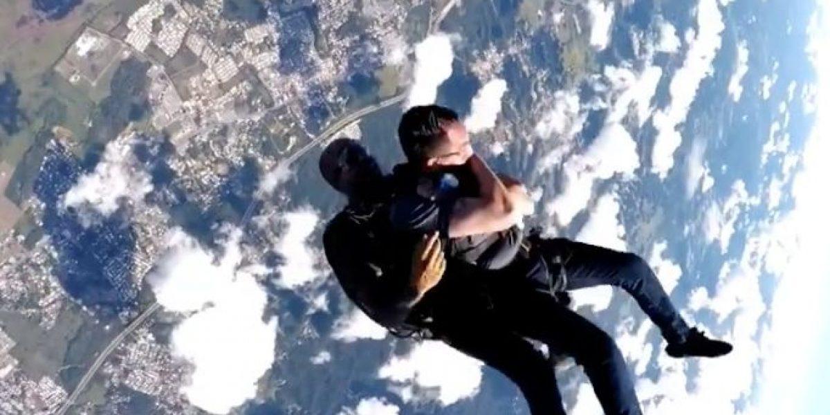 Guillermo José Torres comparte su aventura de skydiving