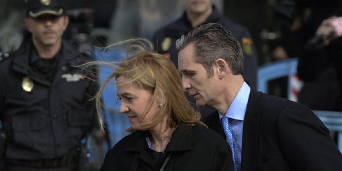 Absuelta infanta Cristina en caso de fraude fiscal