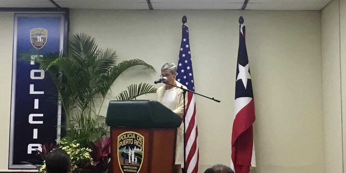 Abierta Hernández de Fraley a diferentes creencias en Policía