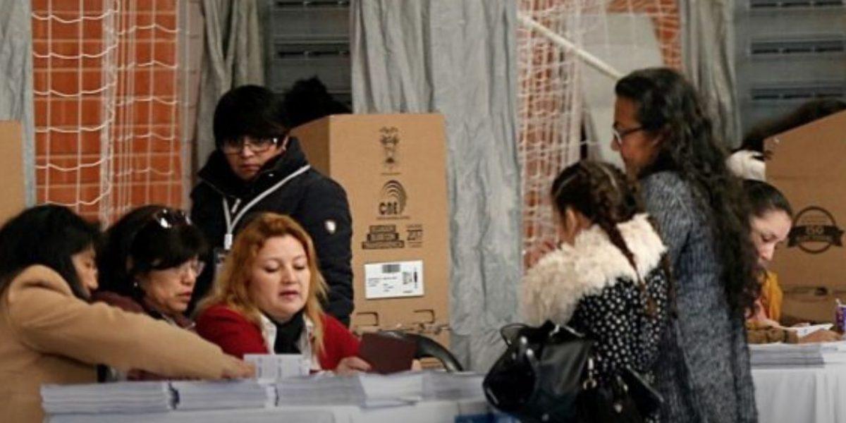 Más de 100 mil ecuatorianos votan en Estados Unidos
