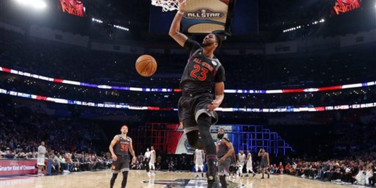 Jugadores del Oeste vencen al Este en Juego de Estrellas NBA 2017