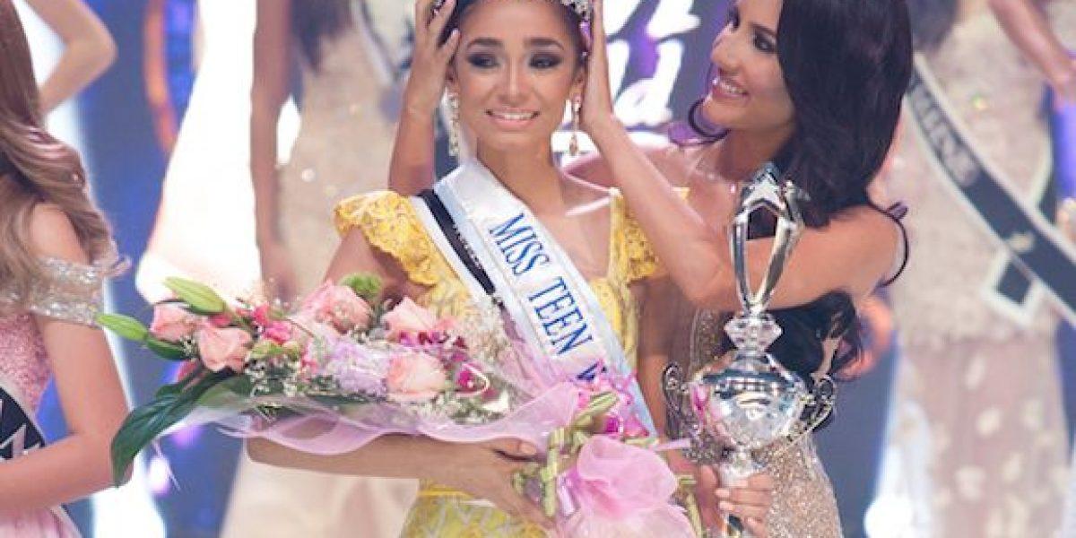 Trujillo Alto triunfa en Miss Teen World P.R. 2017