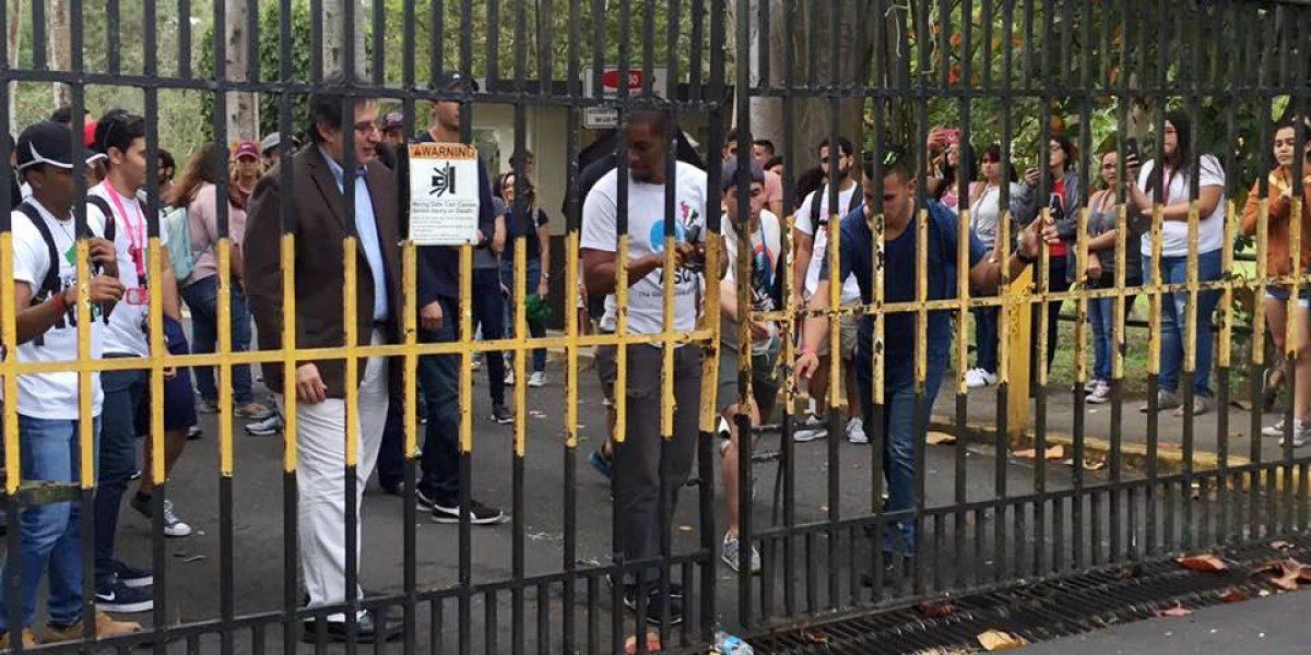 Organización LGBTT se une a protesta UPR