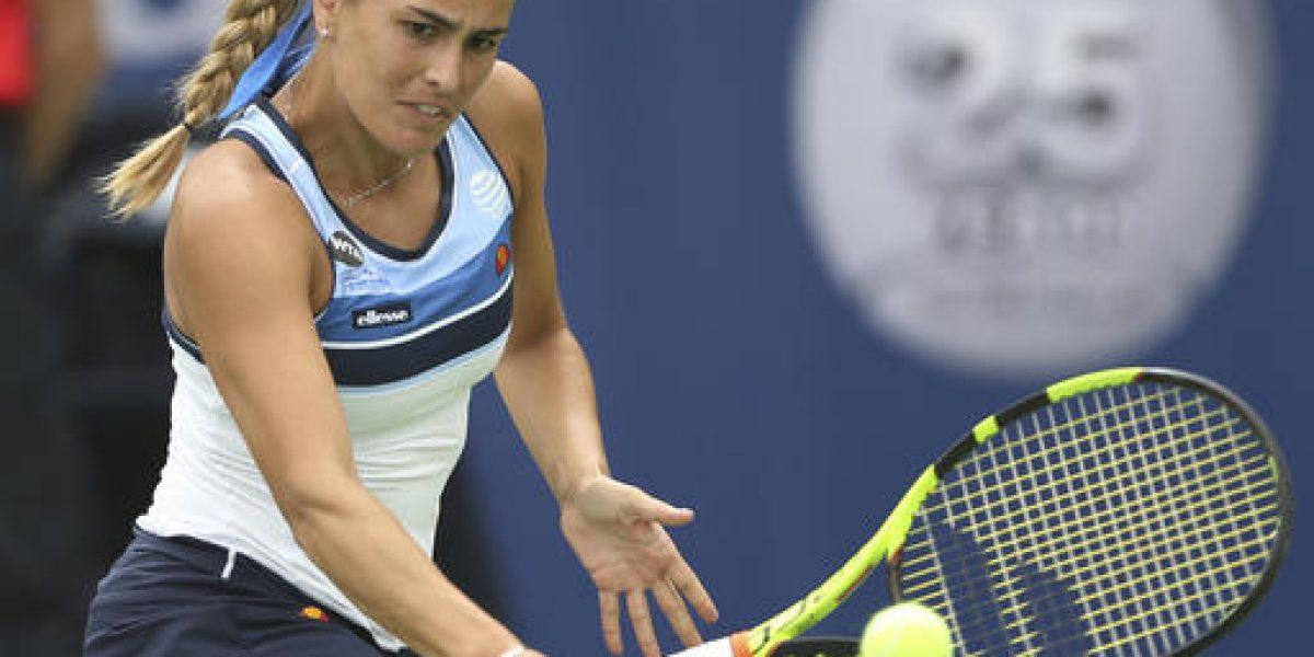 Cae Mónica Puig ante su rival de Río 2016