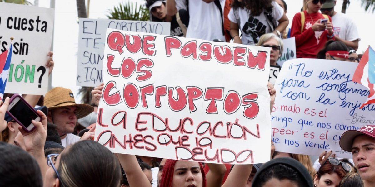 Estudiantes de escuela Superior de Utuado se unen al paro UPR