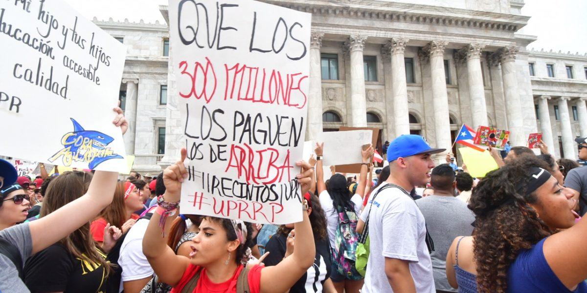 Recorte de $450 millones a la UPR se hizo
