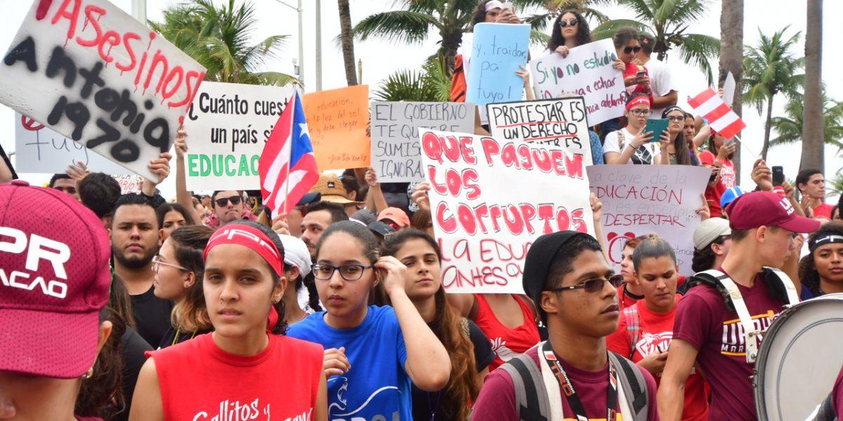Estudiantes en paro afirman que cierre UPR-RP se da antes que la Junta lo haga