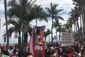 marcha UPR en el Capitolio