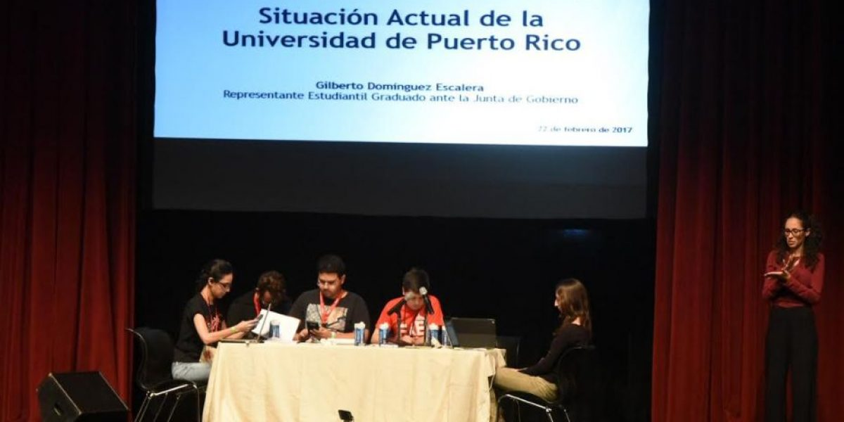 UNETE sale en defensa de la UPR