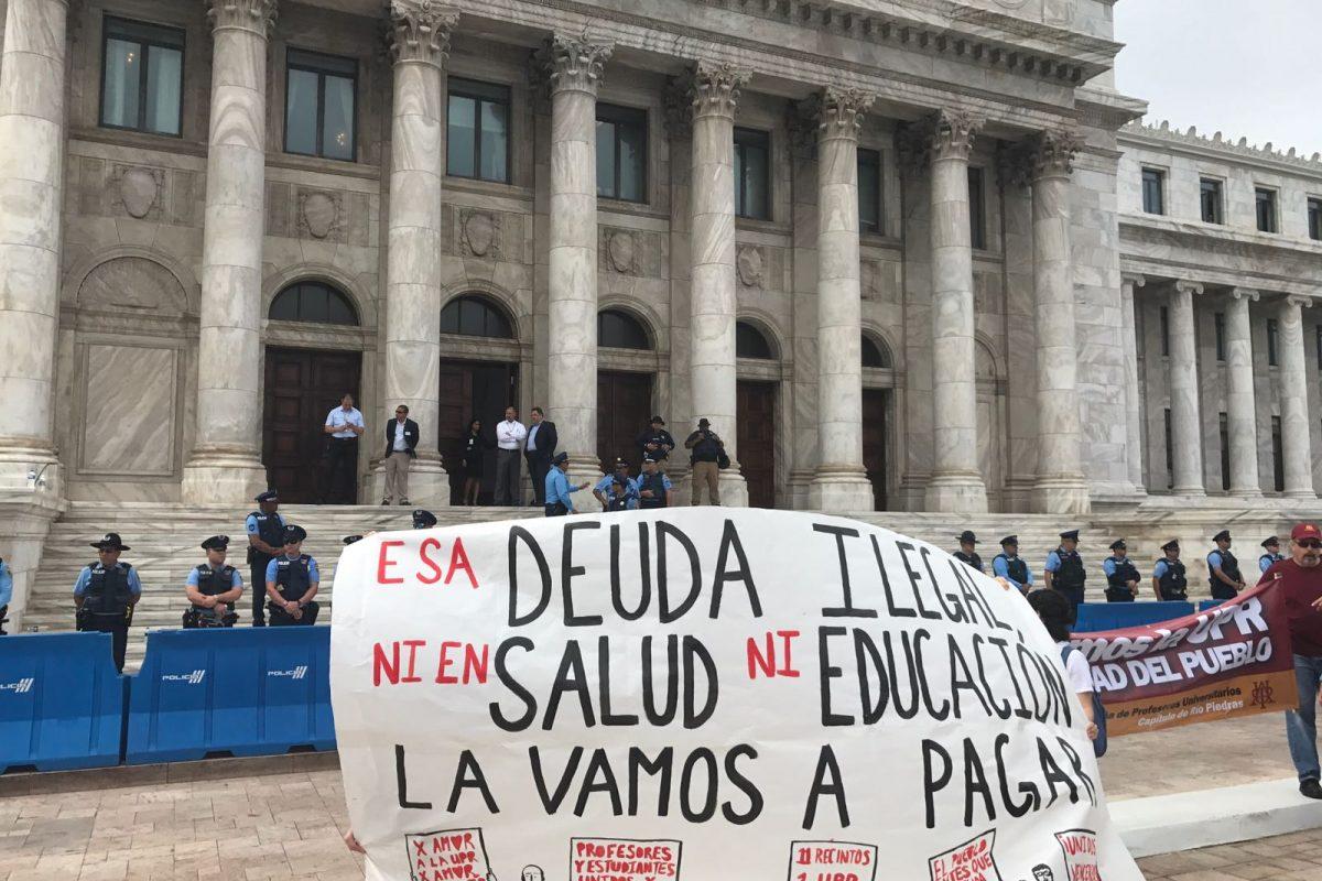 marcha UPR