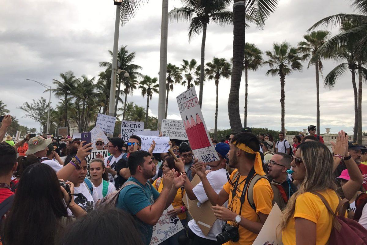marcha UPR Capitolio feb 2017