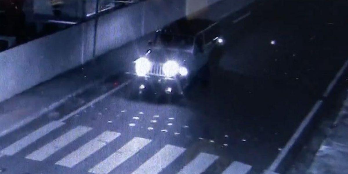 Conductor se va a la fuga tras atropellar mujer en San Lorenzo