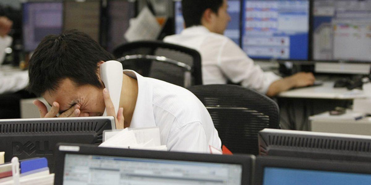 Arrestan a japonés que se apuñaló para no ir al trabajo