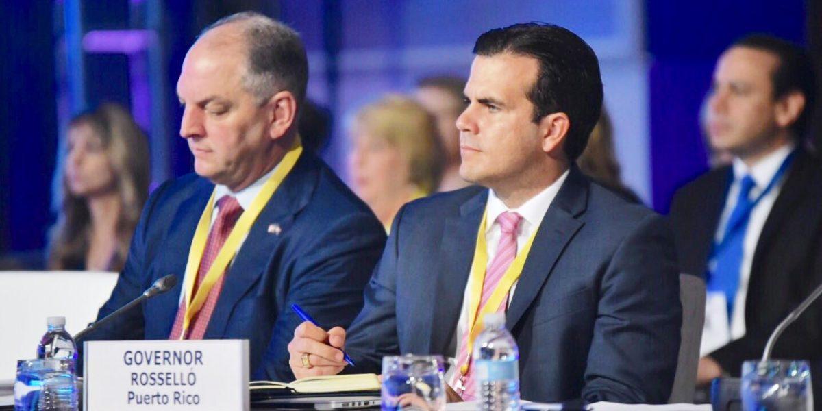 Rosselló participa de sesión inaugural de la Asociación Nacional de Gobernadores