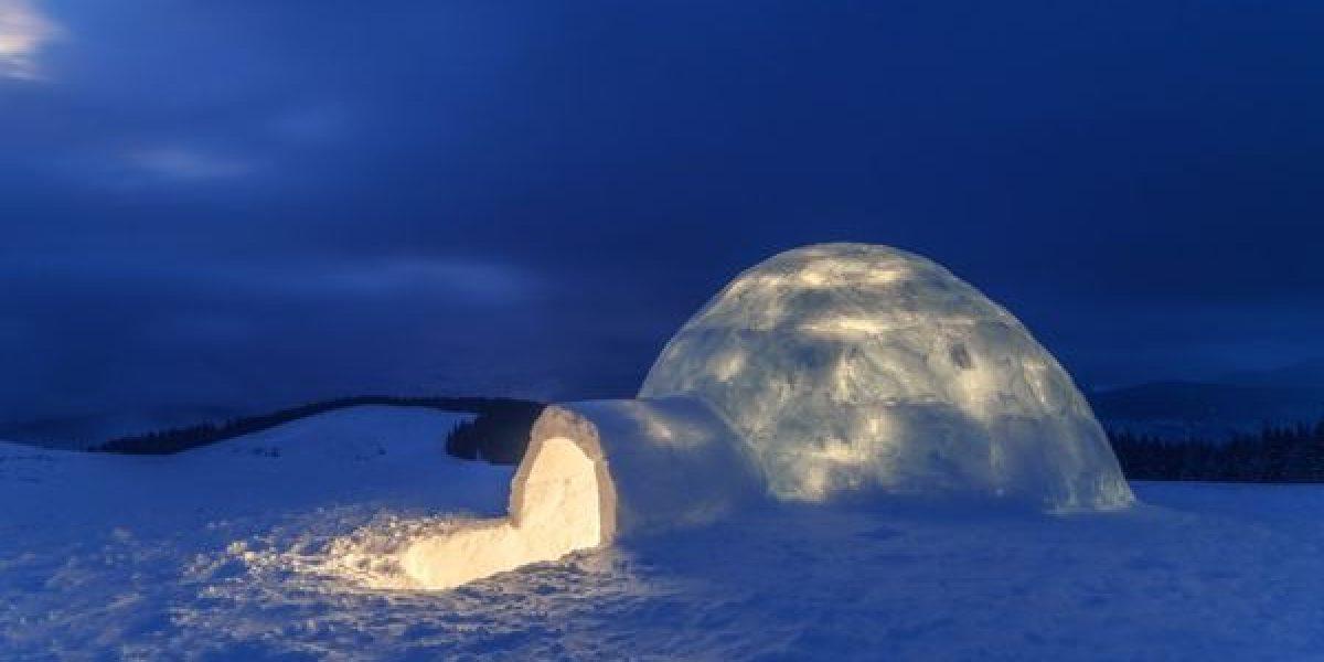 ¿Cómo se construye un iglú?