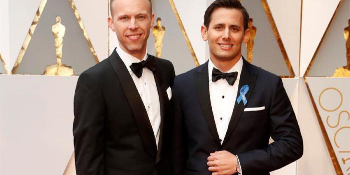 Lazo azul domina en los Oscar