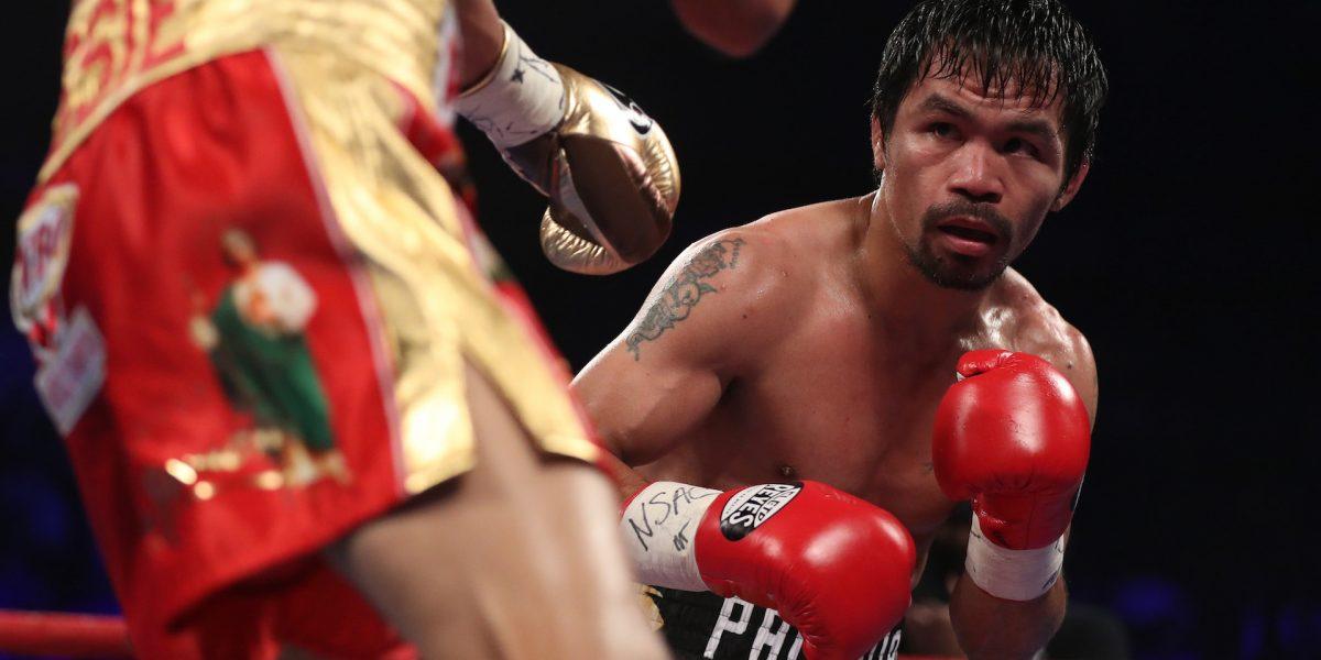 Manny Pacquiao y Khan anuncia pelea para abril