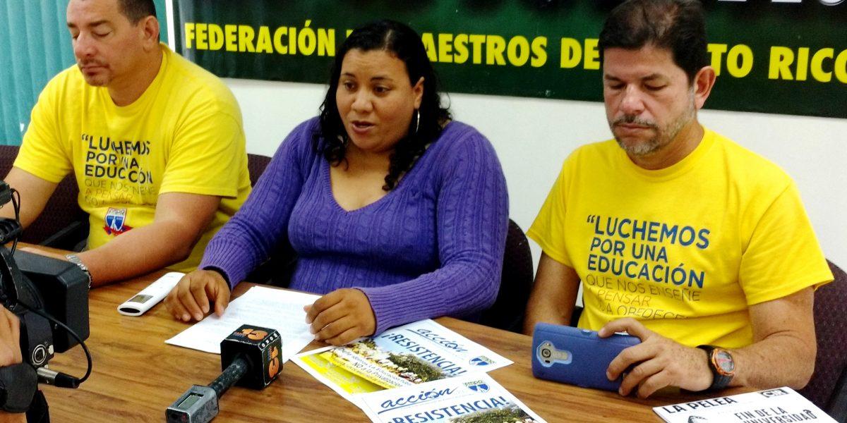 Federación de Maestros advierte que cierre de escuelas es