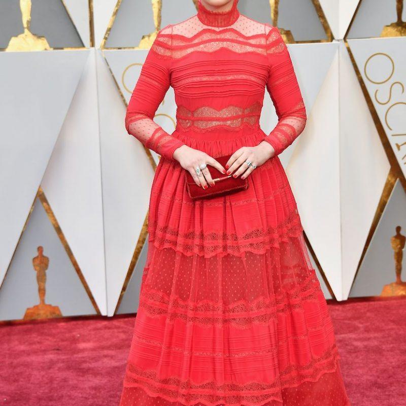 Ginnifer Goodwin, tu vestido es hermoso, el styling chocante.