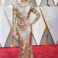 Jessica Biel, despampanante en dorado.