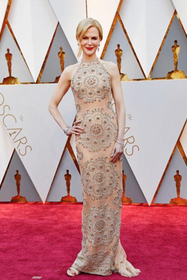 Nicole Kidman, impecable, como en tiempos.