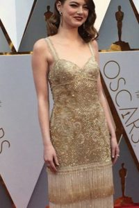 Emma Stone, como siempre. Perfecta.